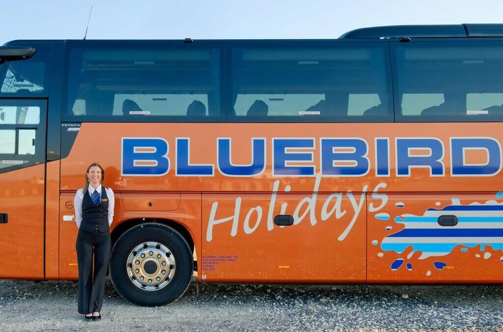 BLUEBIRD COACHES OF WEYMOUTH ARE FINALISTS IN BRITISH COACH TOURISM AWARDS