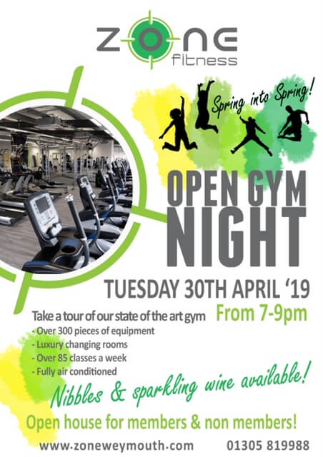 Zone Fitness Open Gym Night